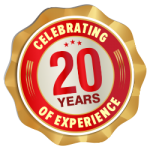 Celebrating 20 Years of Experience